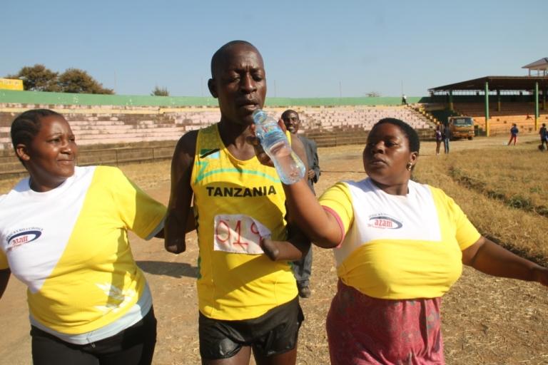 Majimaji selebuka Marathon(Paralympic)